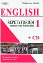 English repetytorium temat.-leks. 1 książka+CD