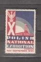 POLISH NATIONAL EXHIBITION - POZNAŃ 1929 - NALEPKA