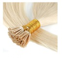 Włosy naturalne pasemka 1g65cm KOLORY+ringi gratis