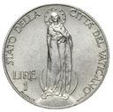 Watykan - moneta - 1 Lira 1936 - RZADKA !