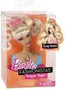 Mattel Barbie Fashionistas Zmieniaj Style Głowa Cu
