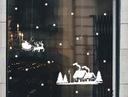 naklejki świąteczne zimowe gwiazdki bombki GRATIS