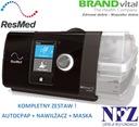 Auto CPAP Resmed 10 Airsense Autoset Maska Nosowa