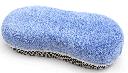 Gąbka z mikrofibry do mycia- dwustronna- siatka