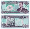 IRAK 1992 10 DINARS