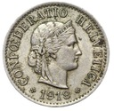 Szwajcaraia - moneta - 5 Rappen 1919 - RZADKA !