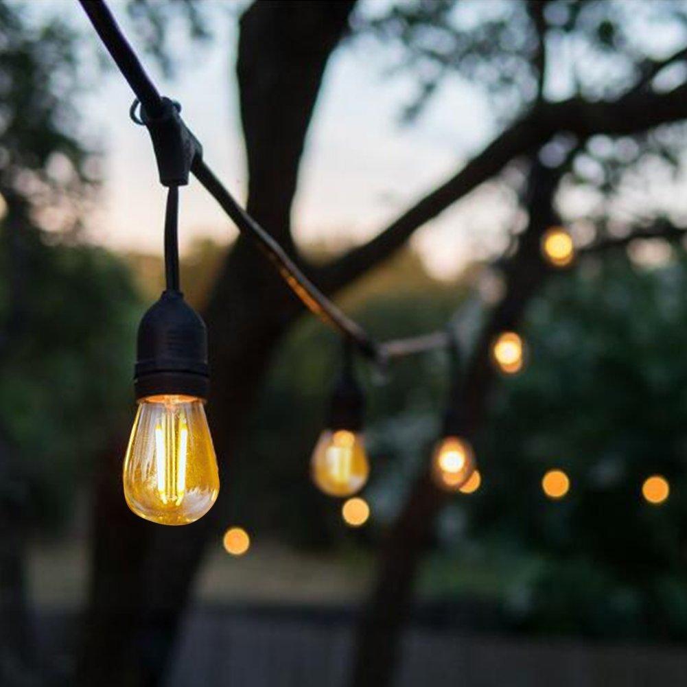 Inteligentny Girlanda Ogrodowa łańcuch 10m +żarówki LED 4W E27 7281697974 PV23