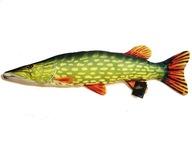GABY pluszak ryba zabawka poduszka SZCZUPAK 80cm