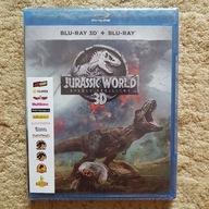 Jurassic World Upadle Krolestwo 3D Blu Ray