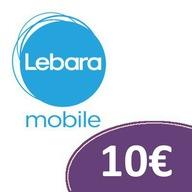 Doładowanie Lebara 10€ Euro Kod Niemcy DE