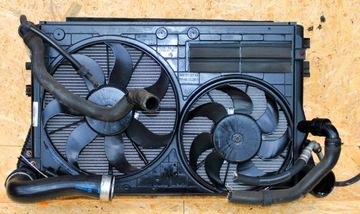 комплект радиаторов skoda yeti 2.0tdi 2009-2015 - фото
