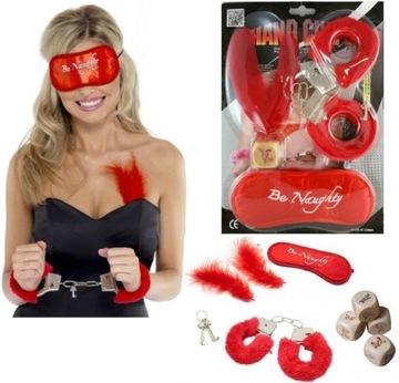 Сексуальные наручники с мехом sexi Эротические ЦВЕТА  доставка товаров из Польши и Allegro на русском