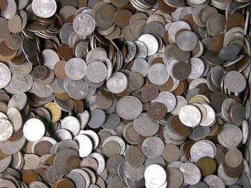 ГЕРМАНИЯ - монеты ДОВОЕННЫЕ - 5 КГ - 5 КГ доставка товаров из Польши и Allegro на русском