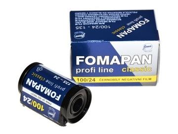 Fomapan 100/24 пленка пленка B&W Foma классика доставка товаров из Польши и Allegro на русском