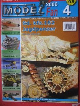 МОДЕЛЬ FAN Jagdpanzer Panther G Messerchmitt 4/2006 доставка товаров из Польши и Allegro на русском