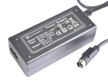 (блок питания для жестких дисков, разъем 4-PIN 12V-1,5 A / 5V-2A FV) доставка товаров из Польши и Allegro на русском