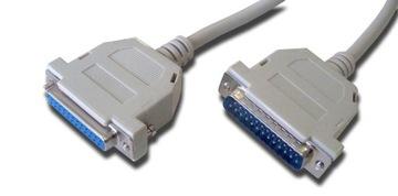 Удлинительный кабель LPT для принтера DB25 DSUB 25p 2м доставка товаров из Польши и Allegro на русском