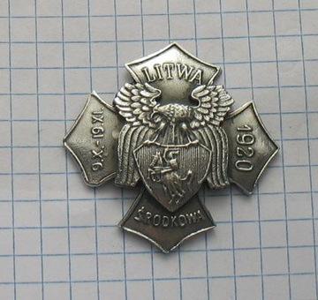 значок Литва Центральная 9.X.-19.XI.1920 доставка товаров из Польши и Allegro на русском