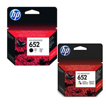 2 HP 652 Чернила 3835 2130 3630 3775 принтера DeskJet доставка товаров из Польши и Allegro на русском