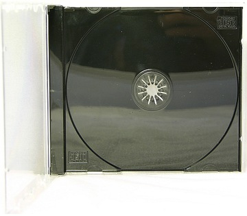 Коробки для 1 CD Jewel CD BOX, Черный трей-1шт доставка товаров из Польши и Allegro на русском