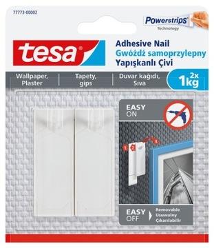 Гвоздь самоклеющийся TESA штукатурка, обои, 2 x 1 кг доставка товаров из Польши и Allegro на русском