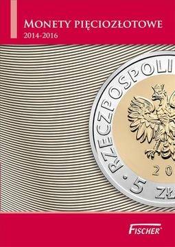 АЛЬБОМ КЛАСТЕР НА МОНЕТЫ 5 ЗЛОТЫХ 2014-2016 ФИШЕР доставка товаров из Польши и Allegro на русском
