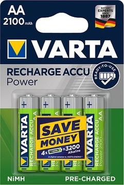 4x АККУМУЛЯТОРЫ аккумуляторы VARTA R6 AA 2100 mAh R2U доставка товаров из Польши и Allegro на русском