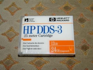 Kaseta do streamera DDS-3 firmy HP 12 GB / 24 GB ! доставка товаров из Польши и Allegro на русском
