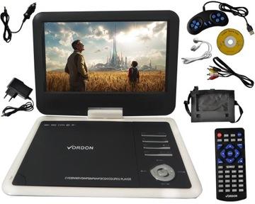 ПОРТАТИВНЫЙ DVD АВТОМОБИЛЬНЫЕ VORDON 10.2 C USB SD ИГРЫ доставка товаров из Польши и Allegro на русском