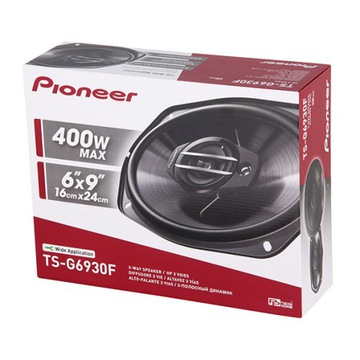 PIONEER TS-G6930F 400W ДИНАМИКИ АВТОМОБИЛЯ 6x9