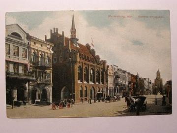 Malbork Ratusz Stare Miasto Brama Mariacka 1910 доставка товаров из Польши и Allegro на русском