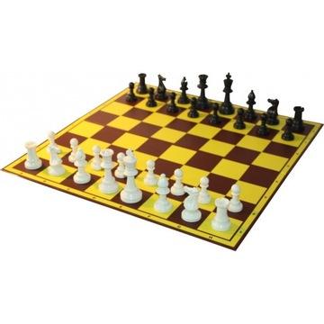 НАБОР ШКОЛЬНЫЙ/ШАХМАТЫ фигуры турнир + шахматная доска доставка товаров из Польши и Allegro на русском