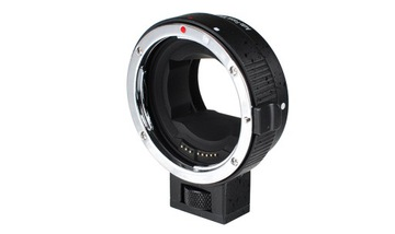 Адаптер AF Sony E Nex для Canon EF EOS черный доставка товаров из Польши и Allegro на русском