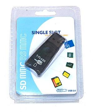 Устройство ЧТЕНИЯ КАРТ памяти MICRO SD T-FLASH USB Мега Быстро!!! доставка товаров из Польши и Allegro на русском