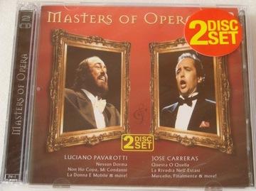 Pavarotti Carreras - Masters Of Opera 2xCD NOWA доставка товаров из Польши и Allegro на русском