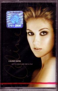 СЕЛИН ДИОН LET'S TALK ABOUT LOVE, кассета аудио доставка товаров из Польши и Allegro на русском