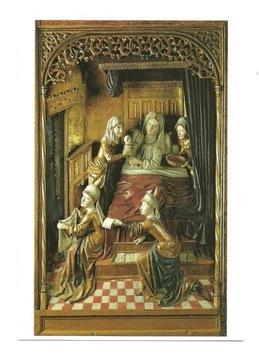 Pocztówka- Narodziny Marii / rzeźba w drewnie,1465 доставка товаров из Польши и Allegro на русском