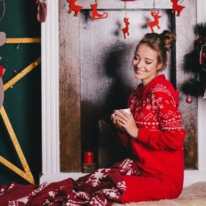 bbe57416ef8971 Piżamy ze świątecznymi motywami - Allegro.pl