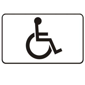 Invalidalach T29 40x20cm Miesto pre neplatné