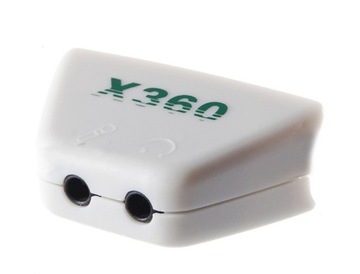 AU6A Adaptér slúchadiel AU6A na mikrofónoch slúchadiel pre Xbox