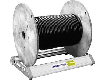 Odvíjanie 200 kg káblových bubnov (400)