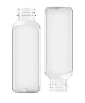 Štvorcová fľaša 500ml 38mm (105ks)