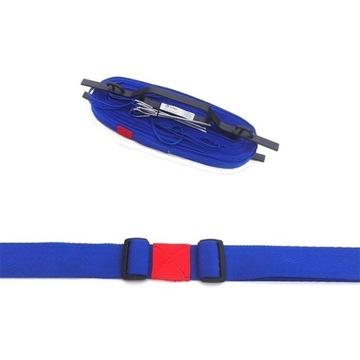 Linky pre volejbal hráčov. Nariadenie 5cm modré