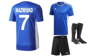 Adidas nastaviť futbalové oblečenie s tlačou 152 cm