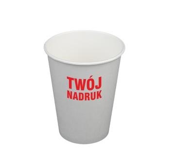 300 ml papierové poháre s tlačou 1 farba