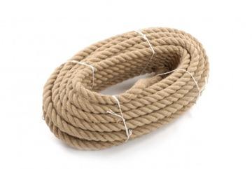 Jute lano kučeravý 20mm - 10 metrov
