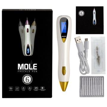 Laserové pero plazmy - tetovanie, jazvy, bradavice
