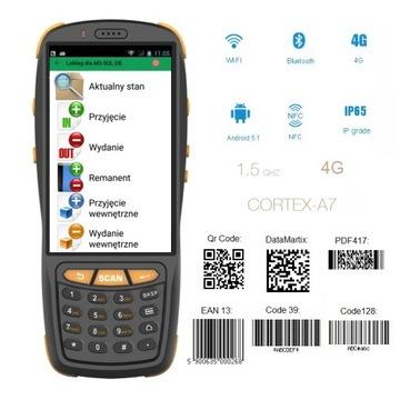 Zberateľ dát PDA3503 2D kód čítačka z Android