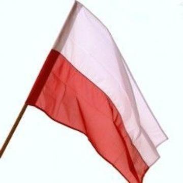 Vlajka Poľsko Patriot Fan bez 90x150