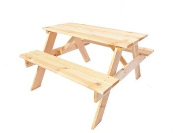 Стол со скамейками 150 см, комплект на 4 персоны, В ПРОДАЖЕ